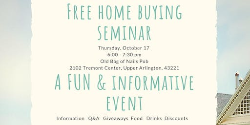 Free Home Buying Seminar w/ The Katie Davis Group & Columbus Mortgage Team