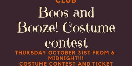 Costume Contest tickets