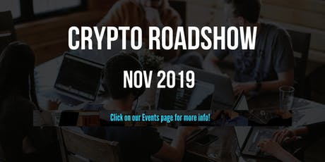 ADELAIDE -  The Inaugural Blockchain Australia National Meetup Roadshow tickets