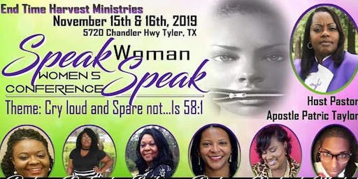 Speak Woman Speak Conference 2019