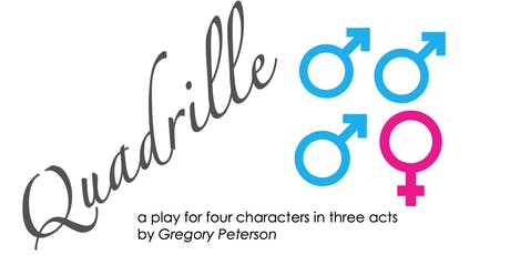 """Quadrille"" by Gregory Peterson, a reading to benefit The Blue Hill Troupe, Ltd. tickets"