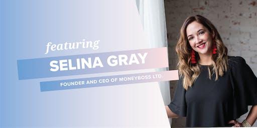 RISE Breakout Speaker Dinner - Selina Gray of MONEYBOSS