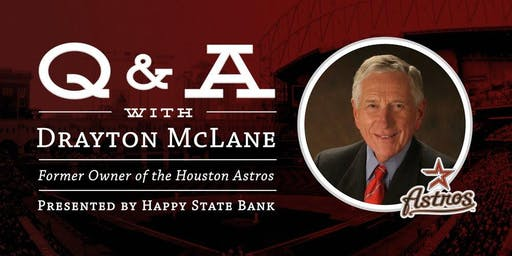 Q&A with Drayton McLane, Former Owner of the Houston Astros