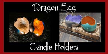 Dragon Egg Candle Holder
