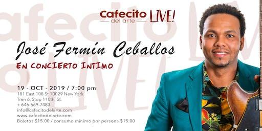 José Fermín Ceballos en concierto íntimo