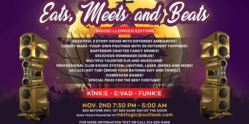 Eatz Meetz and Beatz - House-lloween Edition!