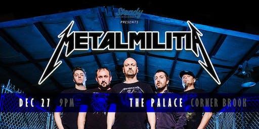 Metal Militia - A classic Metallica tribute concert