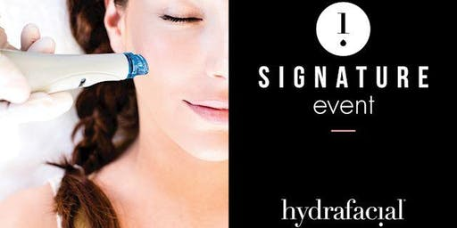Hydrafacial Signature Event