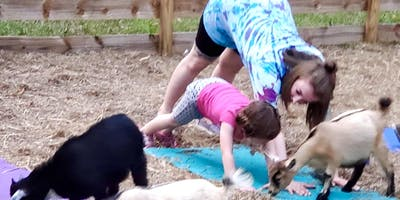 Goat Yoga Bham-GOATIE and ME Geared towards littles & their grown-ups!