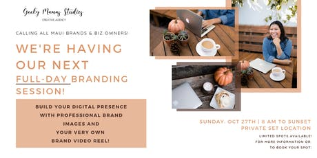 Branding Photos Session with Geeky Mamas Studios tickets