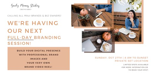 Branding Photos Session with Geeky Mamas Studios