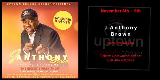 Anthony Brown- SPECIAL ENGAGEMENT