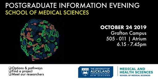 School of Medical Sciences Postgraduate Information Evening