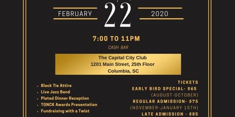 TGNCK's Annual Charity Gala - Columbia tickets