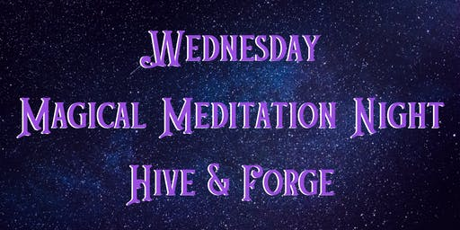 Wednesday Meditation Night 10/16/```19
