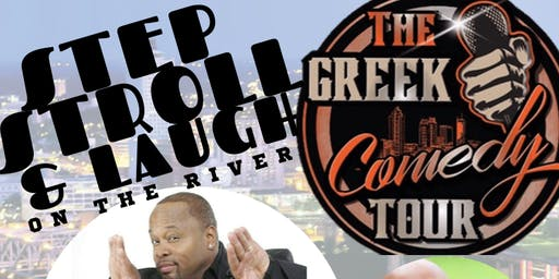 STEP STROLL & LAUGH ON THE RIVER WITH THE GREEK COMEDY TOUR