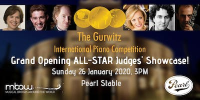 The Gurwitz Competition's Grand Opening ALL-STAR Judges' Showcase