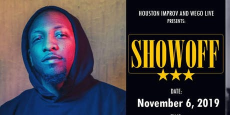 WEGO LIVE - SHOWOFF Poetry Event (Scott Free) tickets