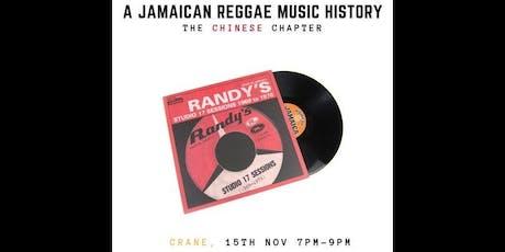 A Jamaican Reggae Music History tickets