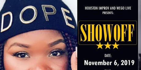 WEGO LIVE - SHOWOFF Poetry Event (Lady 380) tickets