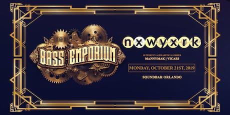 The Bass Emporium Presents NXWYXRK | Monday 10.21.19 tickets