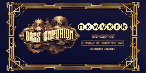 The Bass Emporium Presents NXWYXRK | Monday 10.21.19
