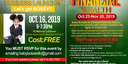Baby Bosses Business Launch