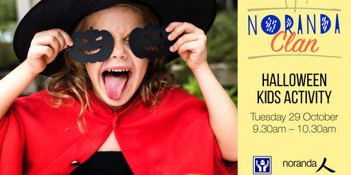 Noranda Clan Halloween Kids Activity
