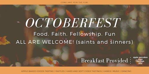 October Fest-Food.Faith.Fellowship.Fun