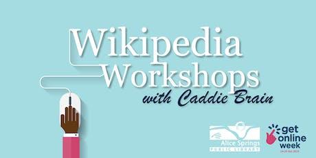 Wikipedia Workshops tickets