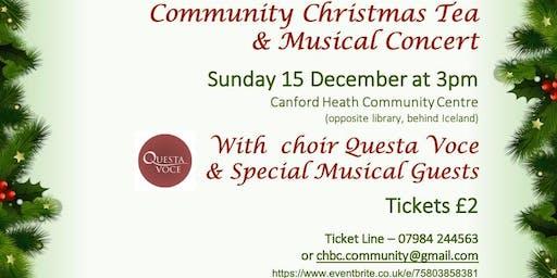 Christmas Tea and Concert