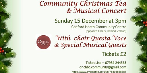 Christmas Tea and Concert
