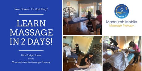 2 Day Massage Course tickets