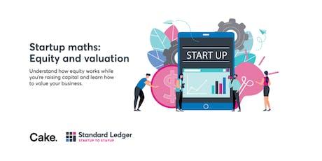 Startup Maths [RCL BNE 22Oct] tickets