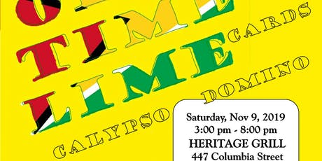 GCCABC Ole Time Lime Fundraiser for Literacy in Guyana 2019 tickets