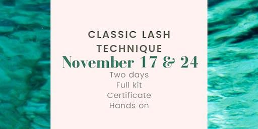Eyelash Extensions Training - Beginners Day 1