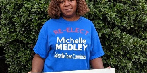 Meet The Candidate Wine & Cheese (Michelle Medley)