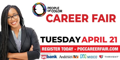 Employer Registration | Spring People of Color Career Fair | TUES. April 21
