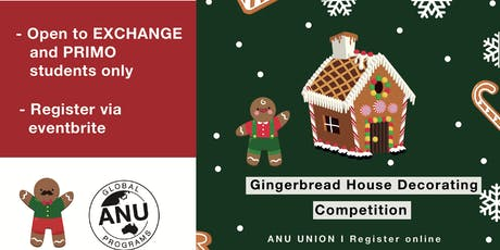 ANU Global Programs SOCIAL MIXER: Gingerbread House Decorating Competition tickets