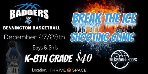 Break the Ice Shooting Clinic