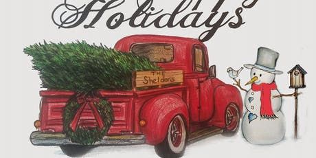 Colored Pencil Drawing Class - Old Pickup Truck w/ Snowman tickets