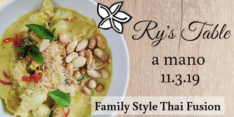 Ry's Table Pop-Up @ a mano tickets