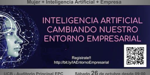 Inteligencia artificial cambiando nuestro entorno empresarial