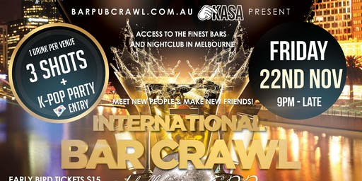Melbourne International Bar Crawl