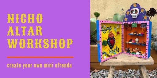 Nicho Altar Workshop
