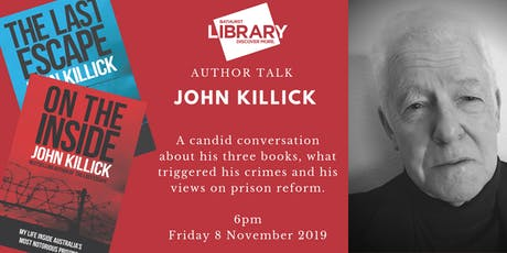 Author Talk: John Killick tickets