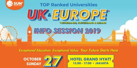 International Education Expo TOP Ranked Universities UK & Europe tickets