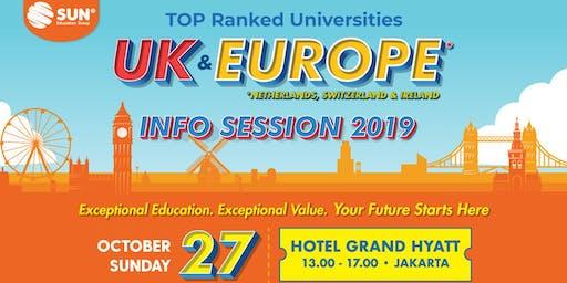 International Education Expo TOP Ranked Universities UK & Europe