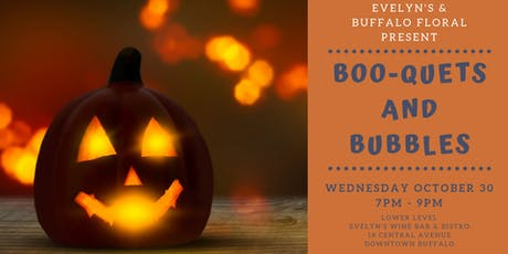 Boo-quets and Bubbles tickets