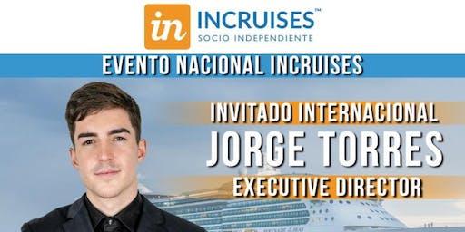 INCRUISES GRAN EVENTO NACIONAL CON JORGE TORRES 16 DE NOVIEMBRE